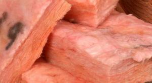 The structure of fibreglass batt insulation creates 'chimneys' for moving air to flow through, reducing the insulating value of the material.